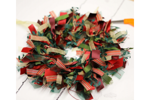 How Easy Are The Ribbon Wreaths To Make ?