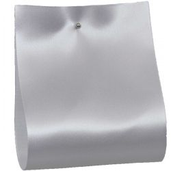 100mm x 50m Single Satin Wide Ribbon  col; White