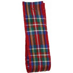 Royal Stewart Tartan Ribbon By Berisfords Ribbons - available in all widths from 7mm to 70mm