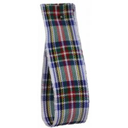 Dress Stewart Tartan Ribbon By Berisfords Ribbons - available in varying widths from 7mm to 70mm