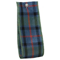 Flower Of Scotland Tartan Ribbon By Berisfords Ribbons - available in varying widths from 7mm to 70mm