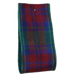 BULK 100M REEL - Lindsay Tartan Ribbon - available in varying widths from 7mm to 40mm