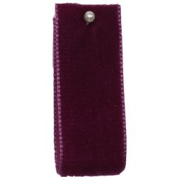 Velvet Ribbon By Berisfords Col: Fuchsia 9709 - available in 9mm - 50mm widths