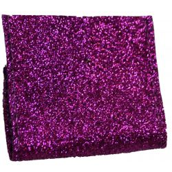 Purple Glitter ribbon 63mm