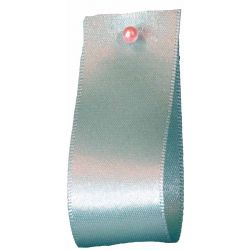 Double Satin Ribbon By Berisfords Ribbons: New Turquoise (Col 48) - 3mm - 70mm widths