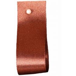 Double Satin Ribbon By Berisfords Ribbons: Hot Chocolate (Col 488)- 3mm - 70mm widths