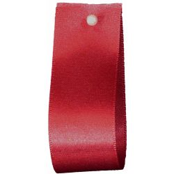 Double Satin Ribbon By Berisfords Ribbons: Cardinal (Col 941) - 3mm - 70mm widths