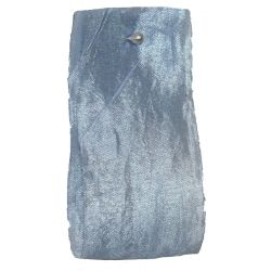 Crushed Silk Style Ribbon 38mm x 20m Col: Light Blue
