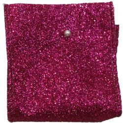 Cerise Glitter ribbon 63mm