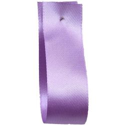 Shindo Double Satin Ribbon Deep Lilac(Col:133) - 3mm - 50mm widths