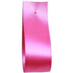 Shindo Double Satin Ribbon Shocking Pink  (Col:186) - 3mm - 38mm widths