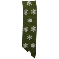 Green Polka Flakes 15mm x 20m