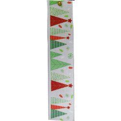 Merry Trees Christmas Ribbon 25mm x 25m