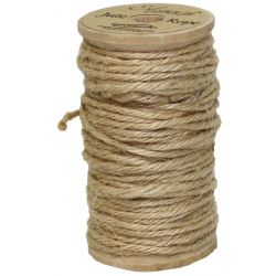 Jute Rope 2mm x 15m Light Natural