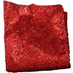 Red Glitter ribbon 63mm
