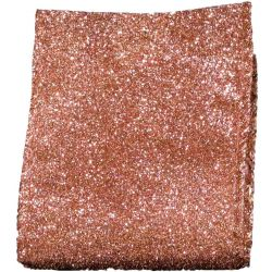 Rose Gold Glitter ribbon 63mm