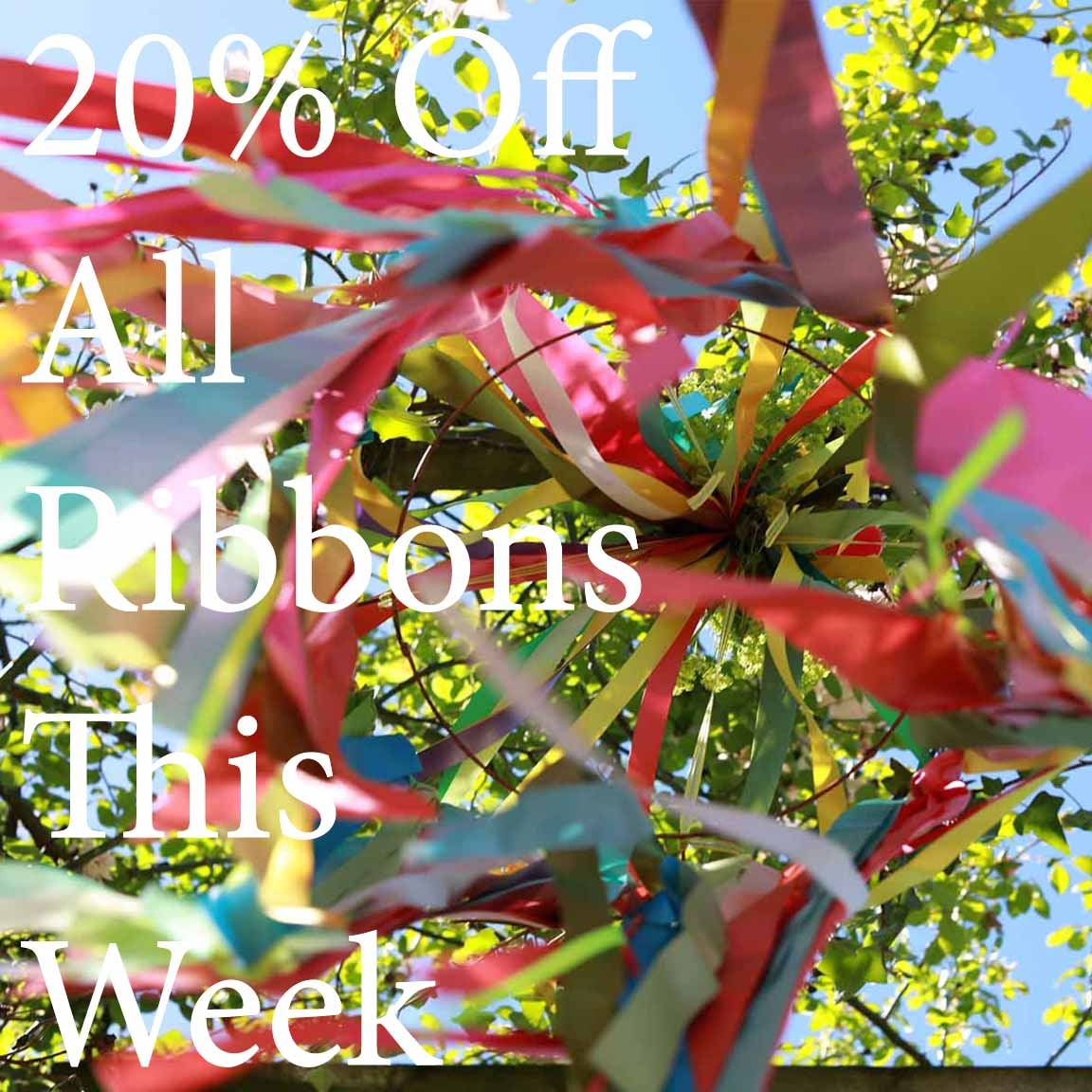 ribbon discount offer