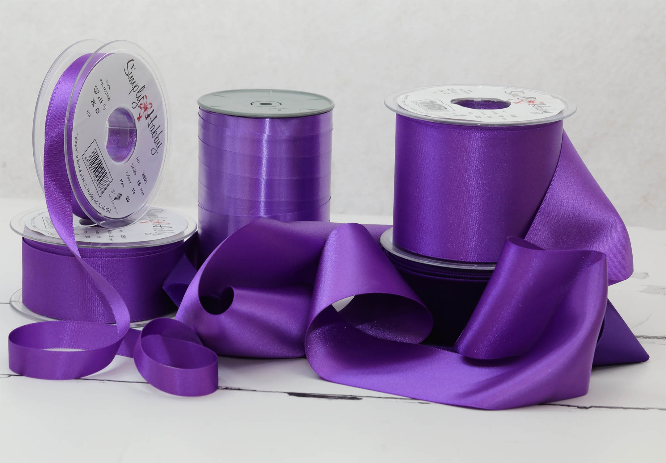 Berisfords Purple Ribbons